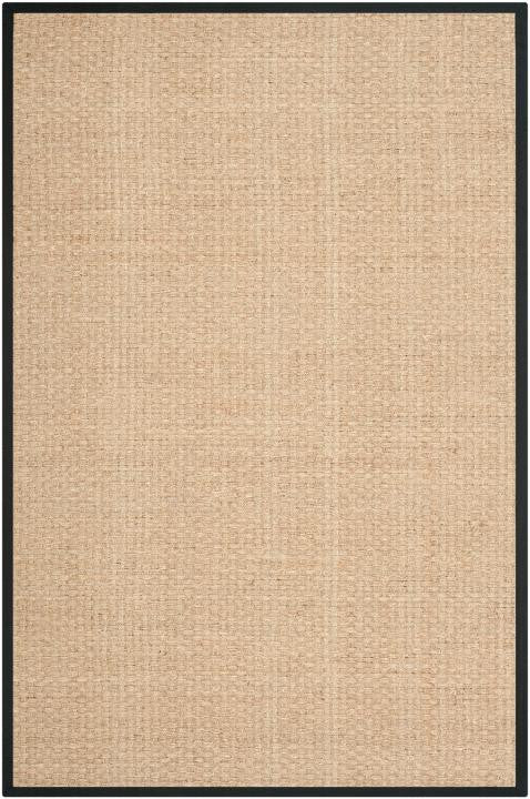 Safavieh Natural Fiber NF114C Natural / Black Rug