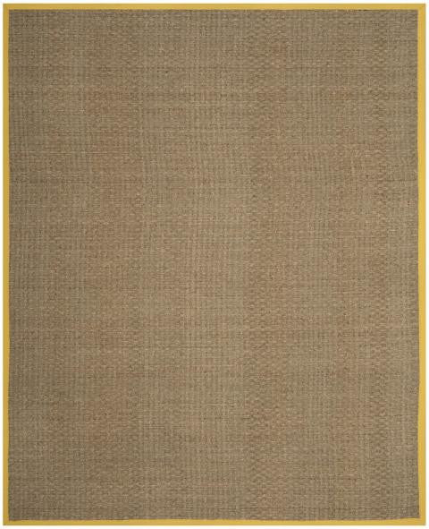 Safavieh Natural Fiber NF114X Natural / Gold Rug