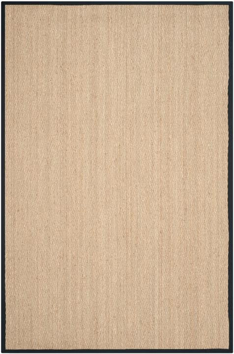 Safavieh Natural Fiber NF115C Natural / Black Rug
