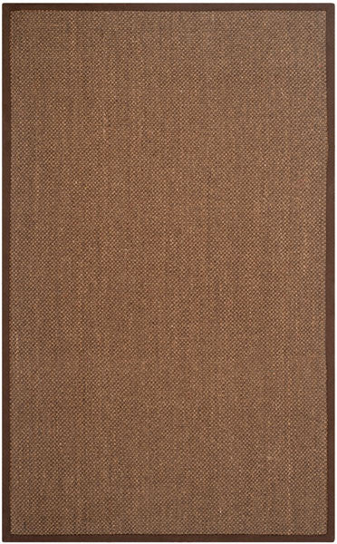 Safavieh Natural Fiber NF443D Brown / Brown Rug