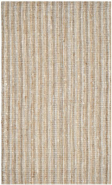 Safavieh Natural Fiber NF447K Gray / Natural Rug