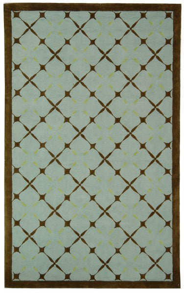 Safavieh Newport NPT421A Blue / Brown Rug