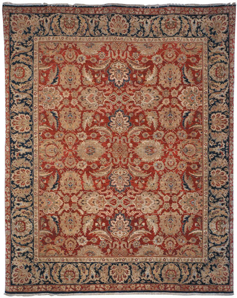 Safavieh Old World OW115F Red / Navy Rug