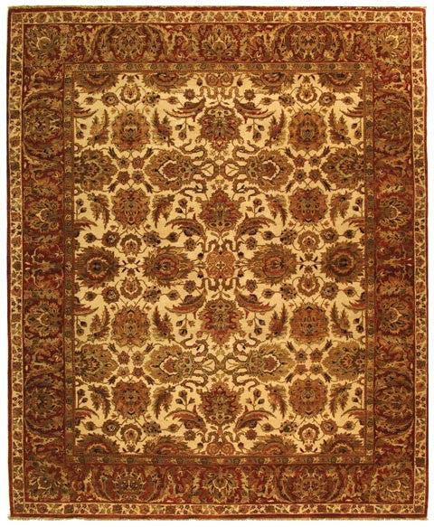 Safavieh Old World OW115G Ivory / Rust Rug