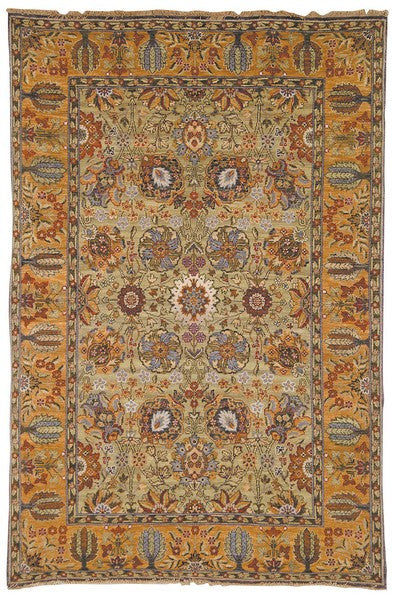 Safavieh Old World OW121A Light Green / Gold Rug