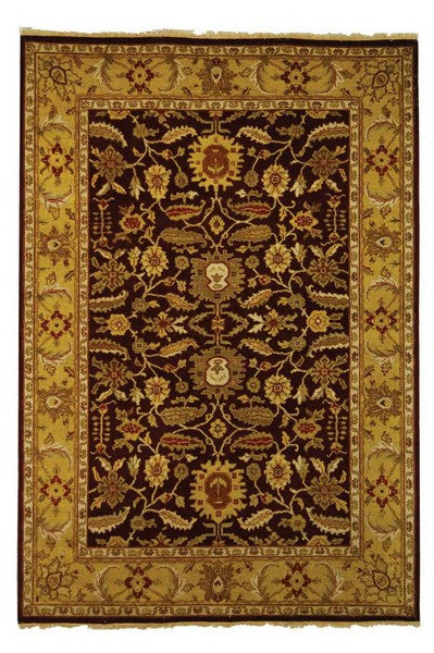Safavieh Old World OW224A Red / Light Gold Rug