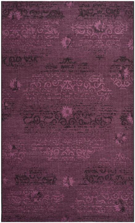 Safavieh Palazzo PAL129-56C7 Black / Purple Rug