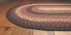 Homespice Decor Plumberry Cotton Braided Rug