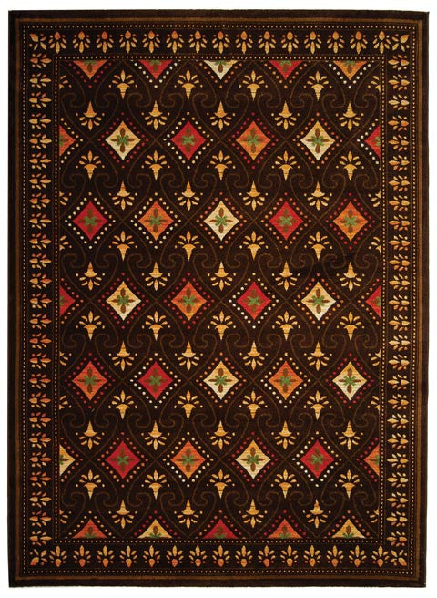 Safavieh Porcello PRL2709B Chocolate / Multi Rug