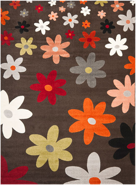 Safavieh Porcello PRL3703C Brown / Multi Rug