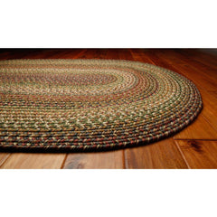 Homespice Decor Rainforest Indoor/Outdoor Braided Rug