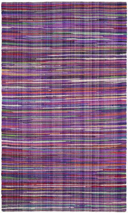 Safavieh Rag Rug RAR240C Purple / Multi Rug