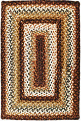 Homespice Decor Rocky Road Cotton Braided Rug