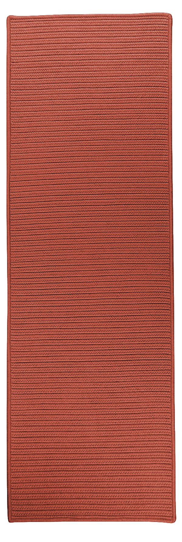 Colonial Mills Reversible Flat-Braid (Rect) Runner RT78 Area Rug