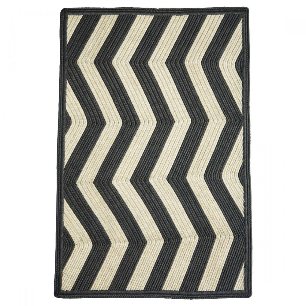 Homespice Decor Sable Ivory Indoor/Outdoor Braided Rug - Sky Home Decor