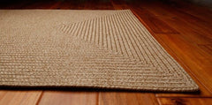 Homespice Decor Sand Indoor/Outdoor Braided Rug