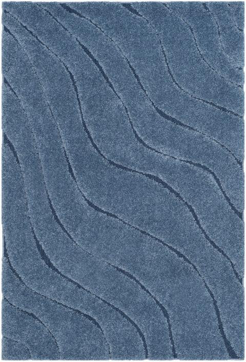Safavieh Florida Shag SG472-6065 Light Blue / Blue Rug