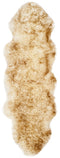 Safavieh Sheep Skin SHS121D Off White / Coco Brown Rug