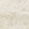 Safavieh Sheep Skin SHS211A White Rug
