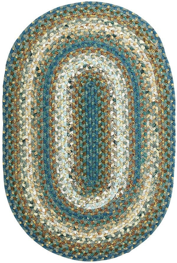 Homespice Decor Smuggler's Cove Cotton Braided Rug - Sky Home Decor