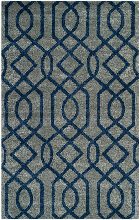 Safavieh Soho SOH411A Grey / Dark Blue Rug