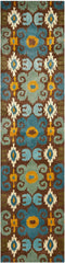 Safavieh Soho SOH445B Brown / Blue Rug