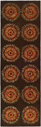 Safavieh Soho SOH719B Brown / Gold Rug