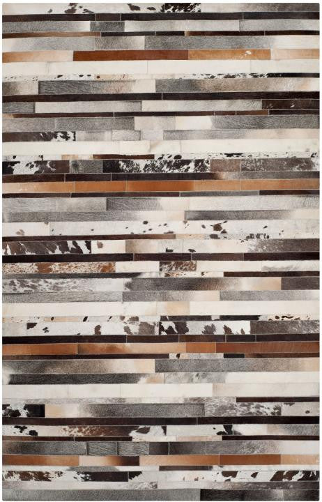 Safavieh Studio Leather STL215A Gray / Brown Rug