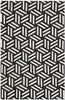 Safavieh Studio Leather STL219A Black / Ivory Rug