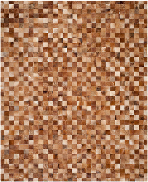 Safavieh Studio Leather STL517B Brown / Light Brown Rug