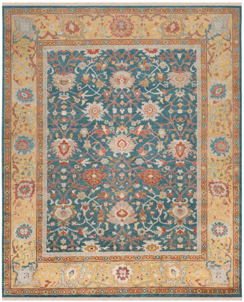 Safavieh Sultanabad SUL1085A Blue / Gold Rug