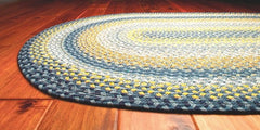 Homespice Decor Sunflowers Cotton Braided Rug