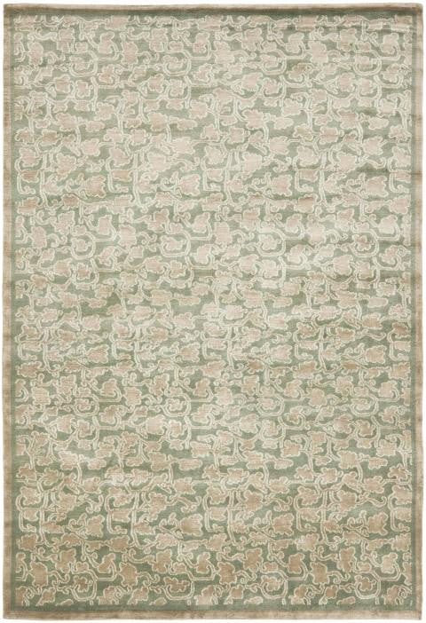 Safavieh Thomas Obrien TOB914F Chinese Modern Floral Stone / Blue Rug