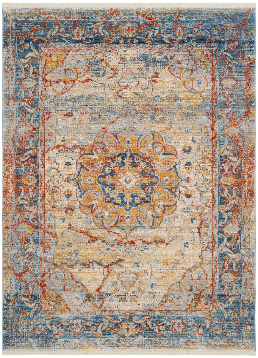 Safavieh Vintage Persian VTP435B Blue / Multi