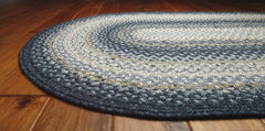 Homespice Decor Wedgewood Cotton Braided Rug