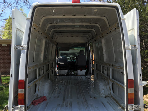 Building out a Sprinter Van