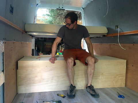 How to build a camper van