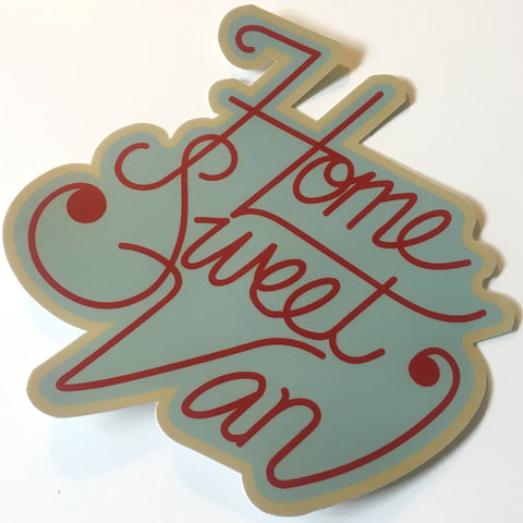 Home Sweet Van Sticker