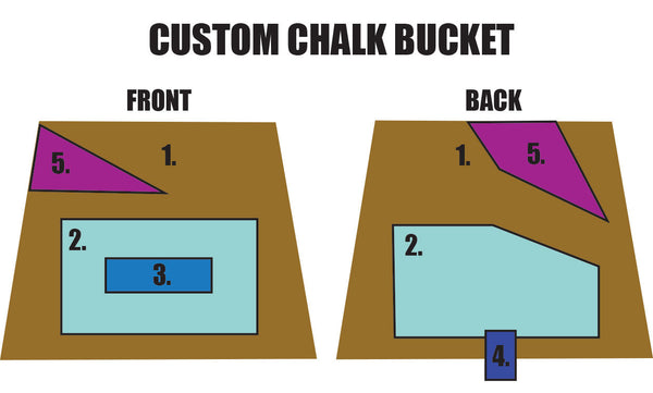 Custom Chalk Bucket Layout