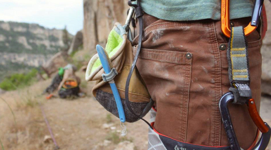 chalk bags and boulder bags