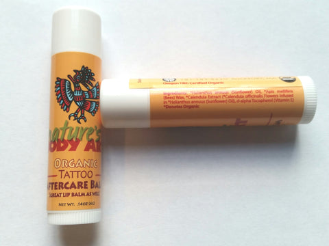 Tattoo Aftercare Balm - Nature's Body Art