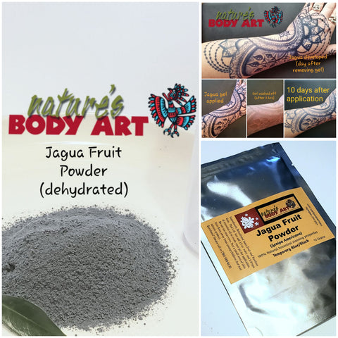 Wholesale Raw Powdered Jagua (dehydrated fruit) (nothing added) - Nature's Body Art