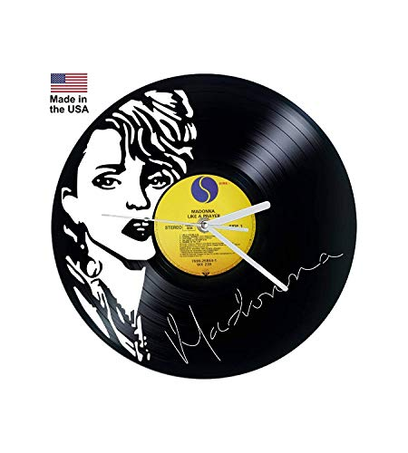 Vinyl Clock, Madonna, Like a Prayer, Wall clock, Vinyl Record Clock