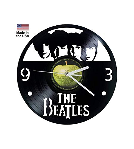 Vinyl Clock, Beatles, Let It Be, Wall clock, vinyl record clock