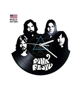 Vinyl Clock, Pink Floyd, Dark side of the moon, Wall clock, vinyl record clock