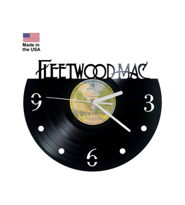 Vinyl Clock, Fleetwood Mac, Christmas gift, Wall clock, vinyl record clock