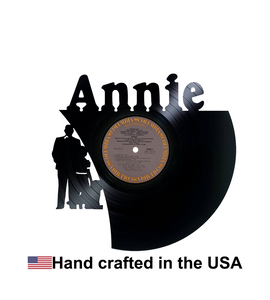 Vinyl Record, Annie, Wall Art