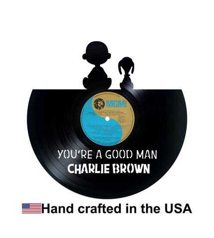 Vinyl Record, You're a Good Man Charlie Brown, Wall Art