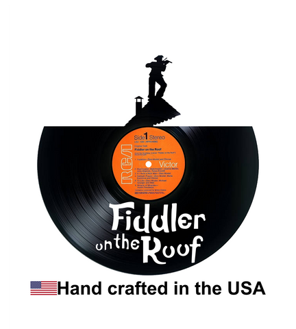 Vinyl Record, Fiddler on the Roof, Wall Art
