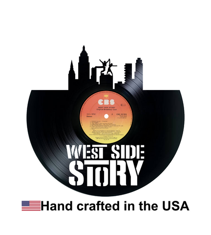 Vinyl Record, West Side Story, Wall Art